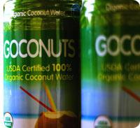 Goconuts Organic Cocounut Water