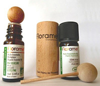 Wood Diffuser with Florame Essential Oils