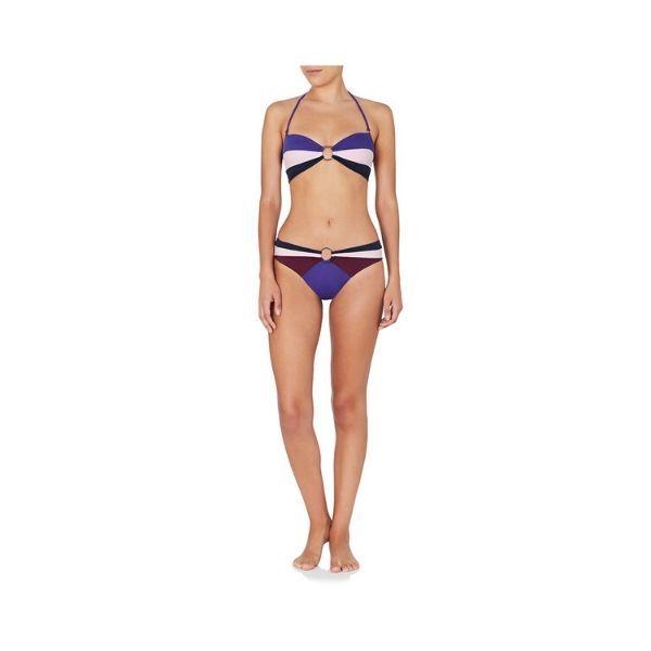 February 06:50 Bikini Top Blue Purple