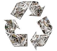 Information Destruction and Recycling