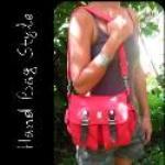 Hemp Bag - Double Buckle Satchel