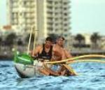 Outrigger Canoe Paddling