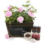 Rose Chalk Box Gourmet Gift